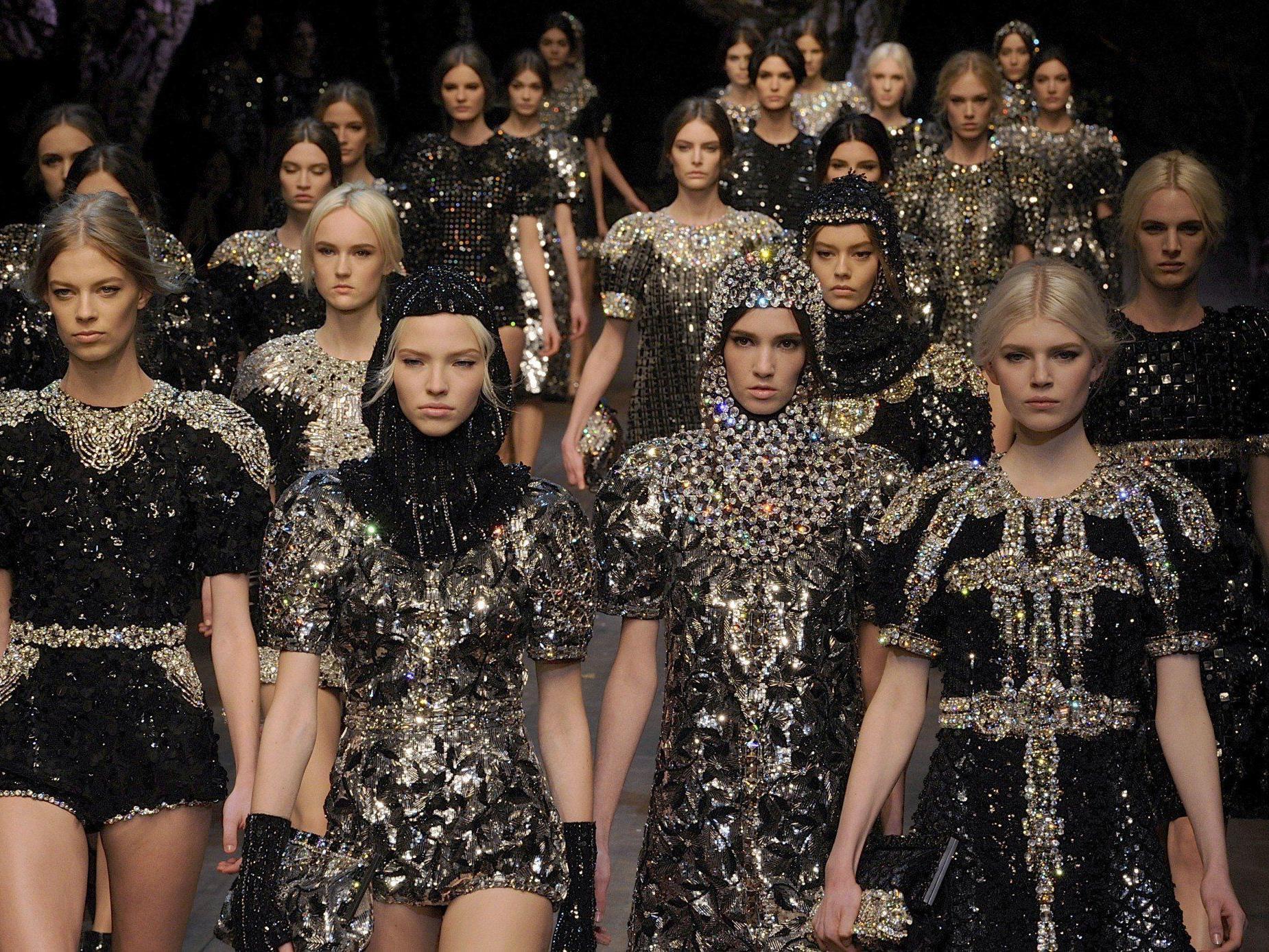 Märchenhaftes von Dolce & Gabbana - nächste Trendschau in Paris.