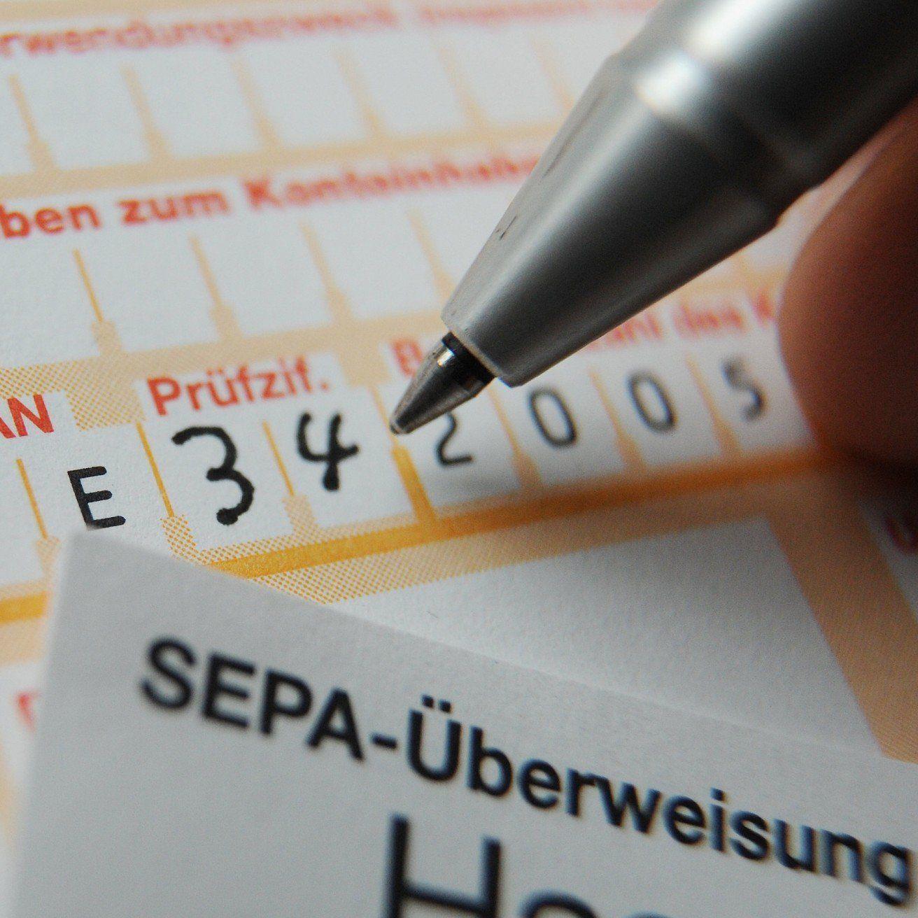 Betrüger nützen die SEPA-Umstellung, um an Passwörter zu kommen.