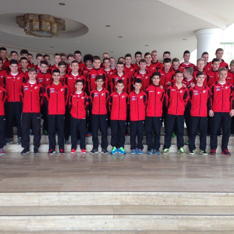 Die AKA Vorarlberg ist mit 60 Talenten eine Woche lang auf Trainingslager in der Türkei.