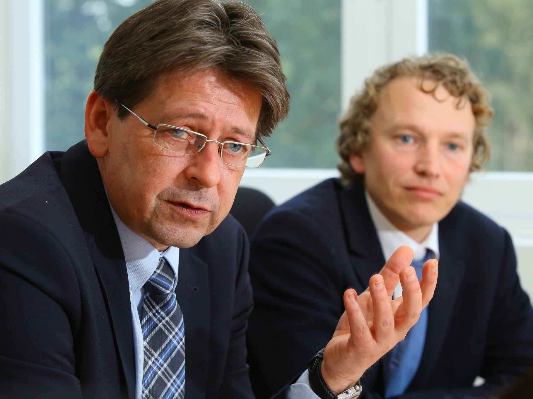 Wolfgang Taucher und Sven-Gunnar Pangratz im VN-Interview.