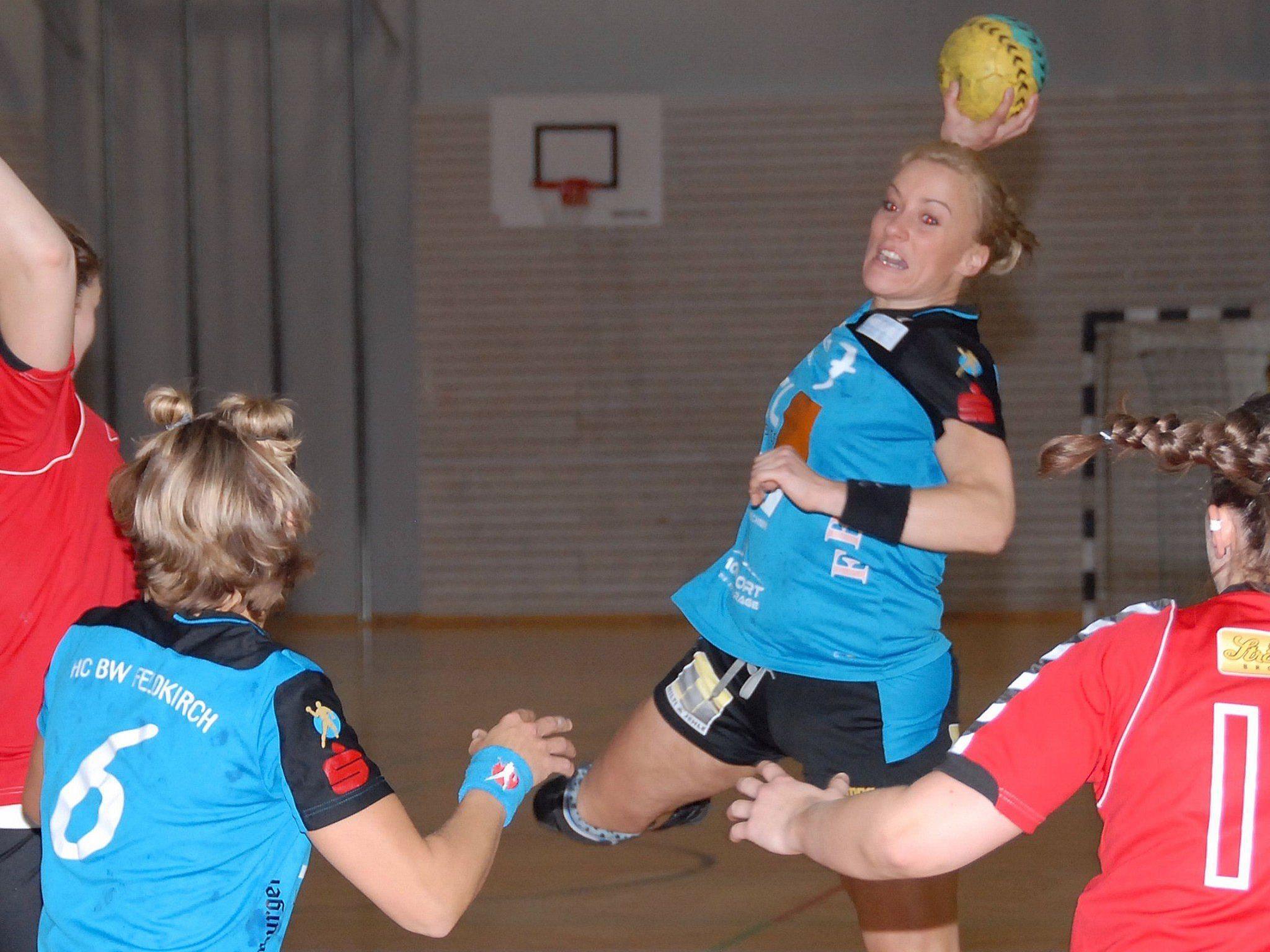 Feldkirchs Missis 50 Prozent Martina Strmsek verhalf maßgeblich zu einem Auswärtspunkt.