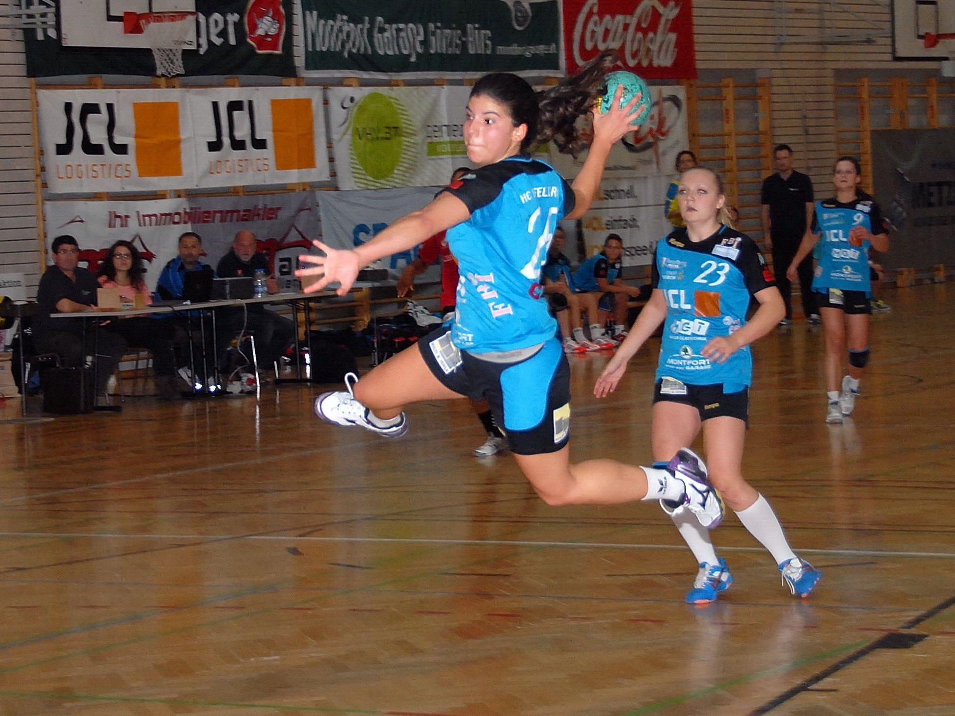 Feldkirchs Handballdamen verloren zweimal auswärts und blieben ohne Punkte.
