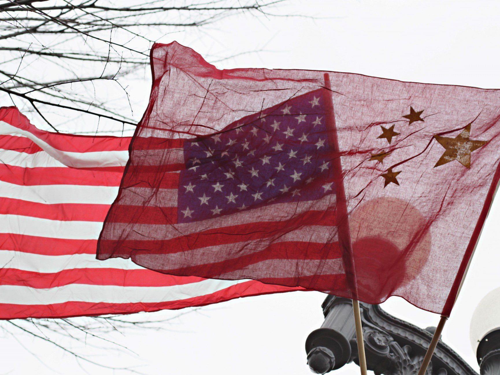 """Chinesisches Außenministerium: USA verfolgt """"Doppelmoral""""."""