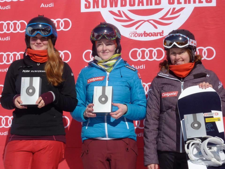 Christine Holzer gewinnt in Davos.