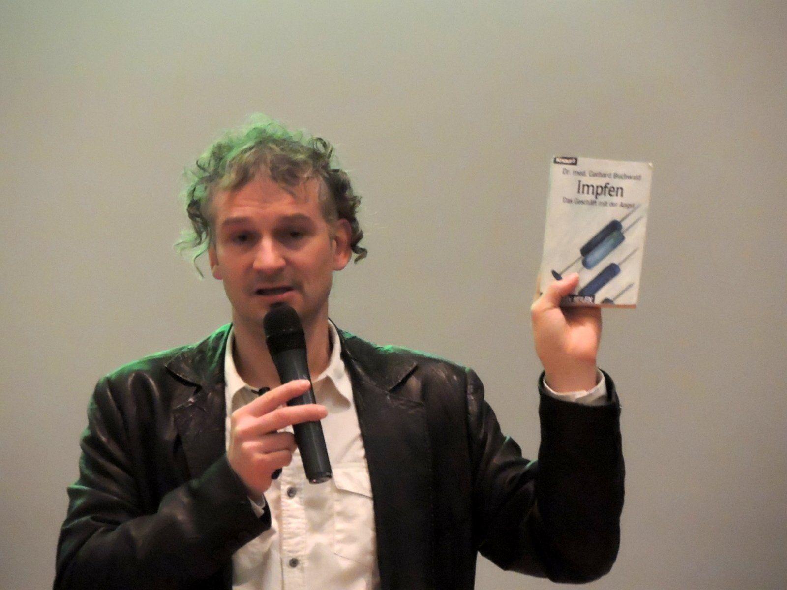 Impfkritiker Dr. Rolf Kron