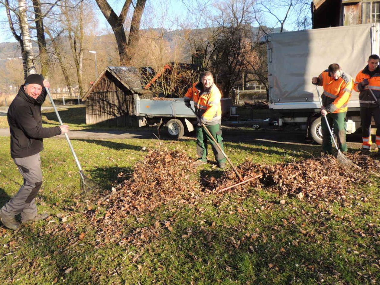 Team der Stadtgärtnerei sorgt für gepflegte Anlagen