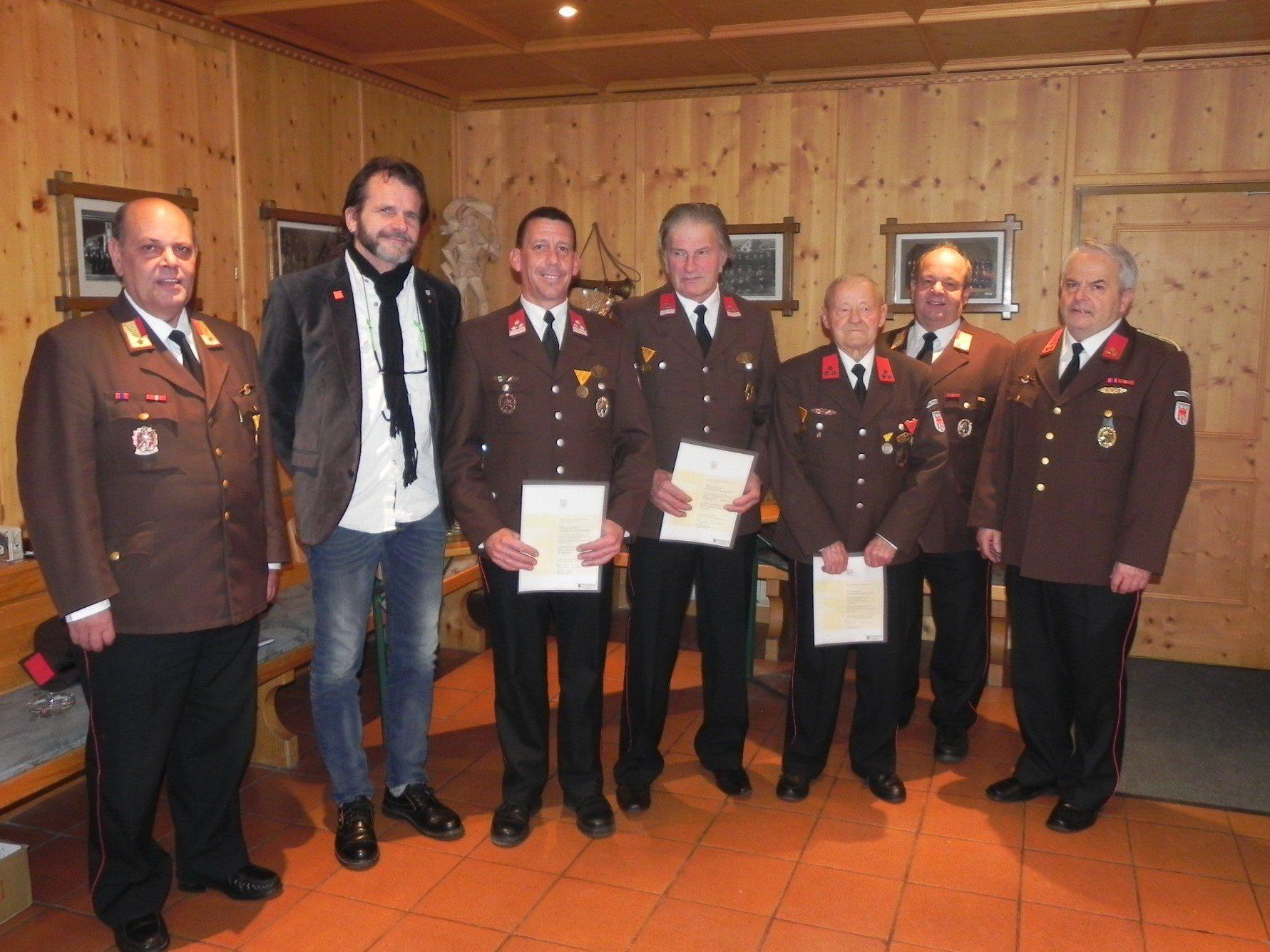 Jahreshauptversammlung der Ortsfeuerwehr.