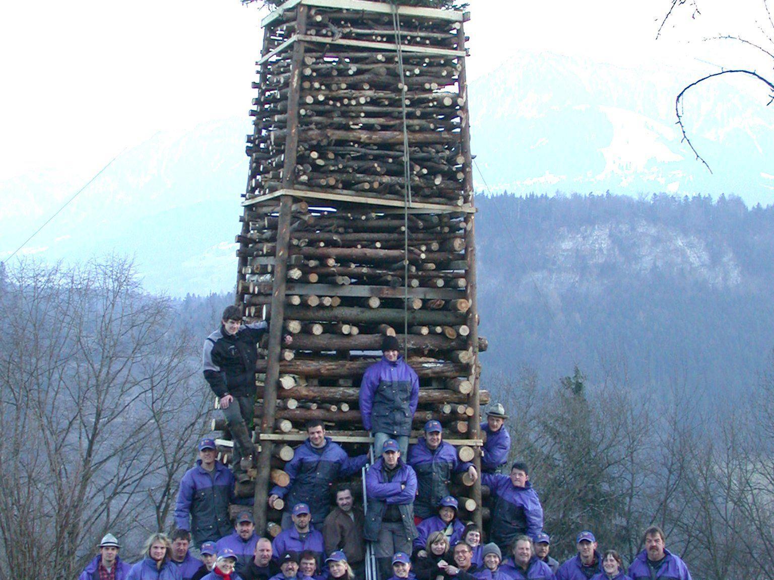 Funkensonntag am Ardetzenberg: 9. März 2014.