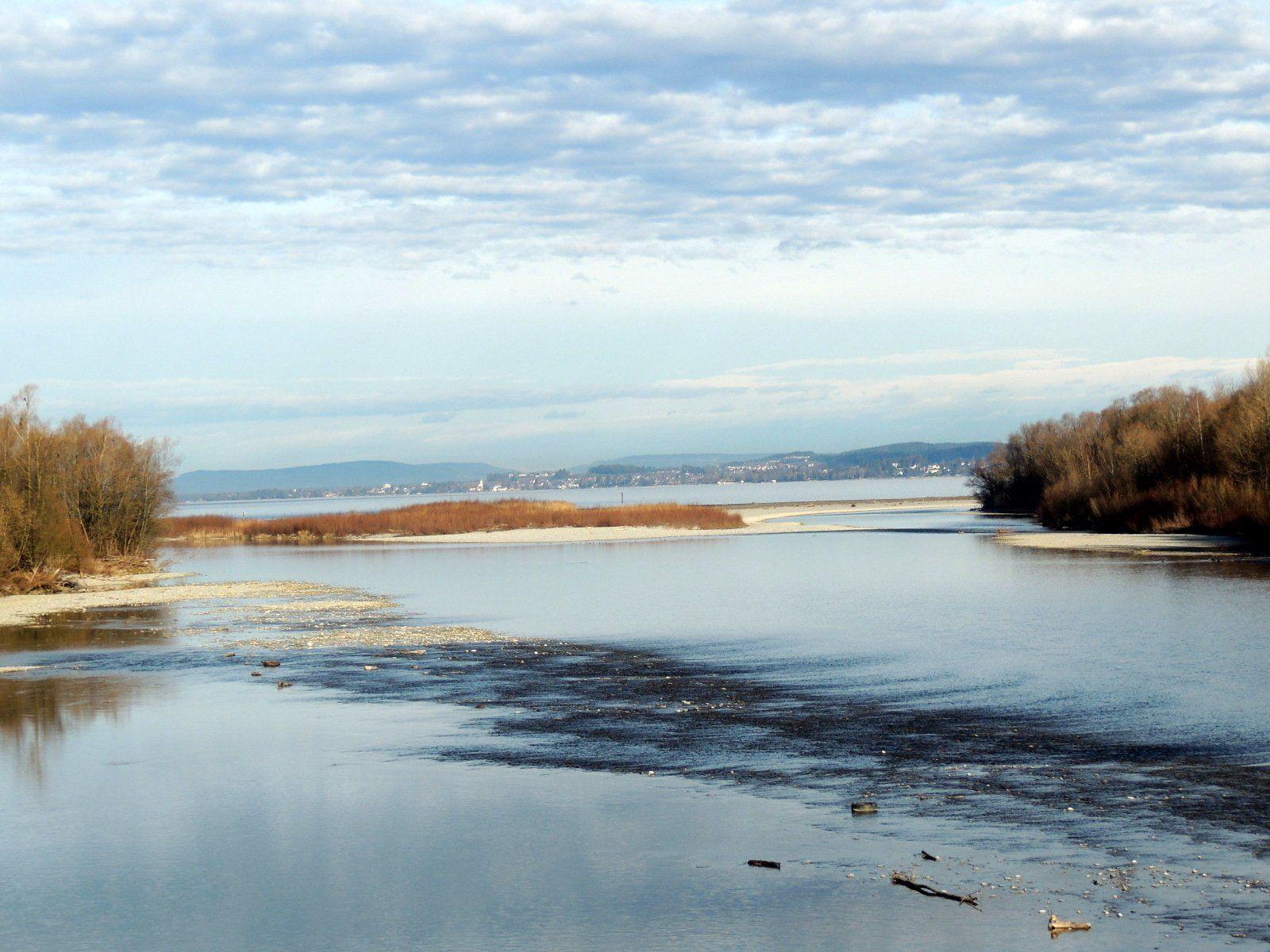 Baumaßnahmen im Mündungsgebiet