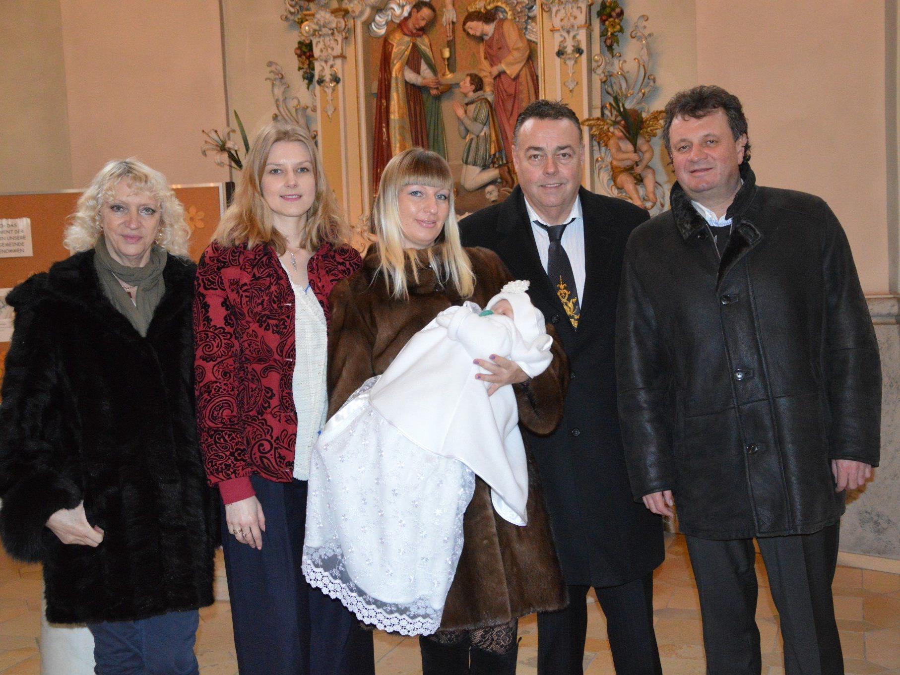 Melanie Gütl wurde getauft