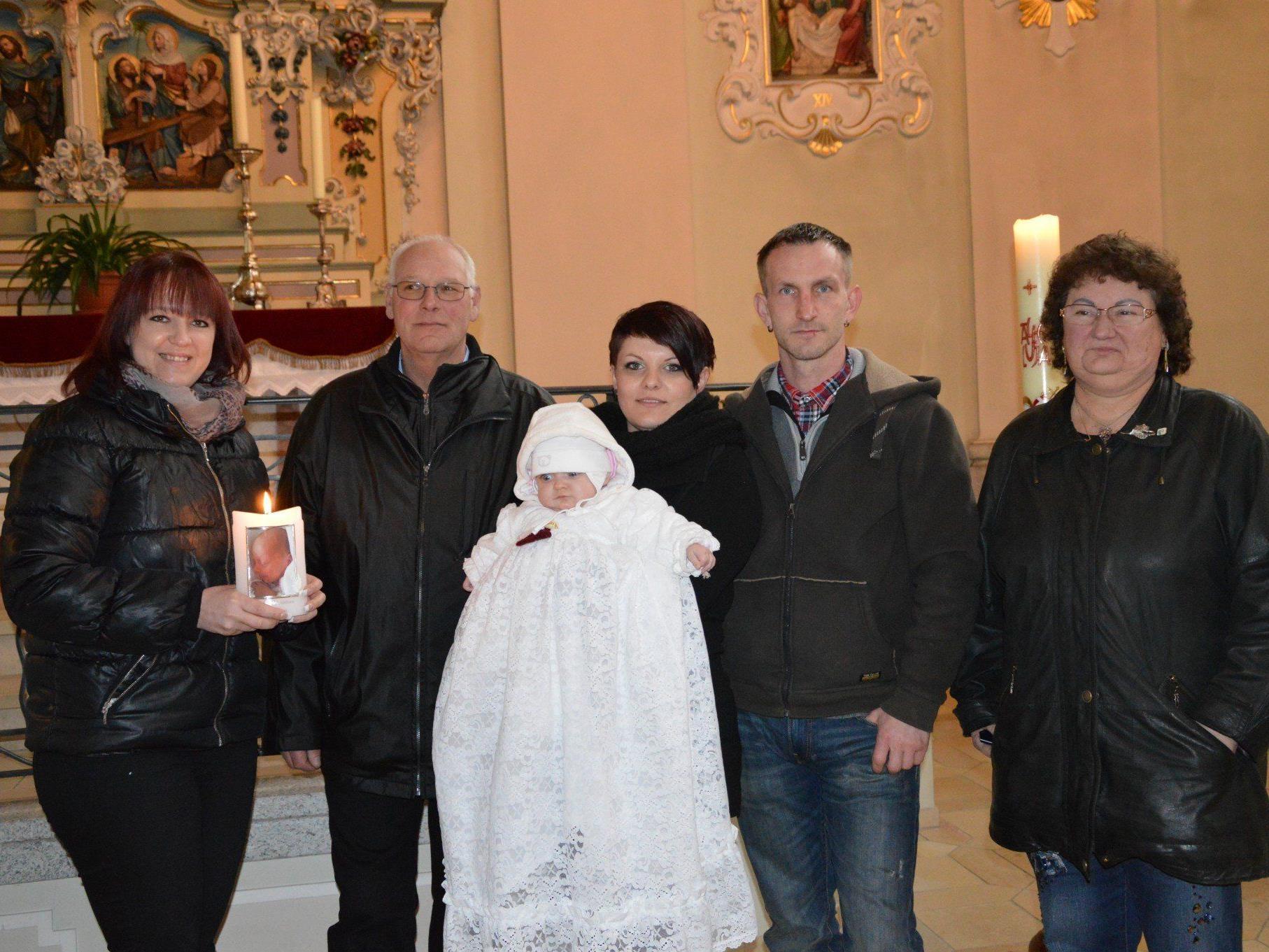 Svenja Magdalena Heine wurde getauft