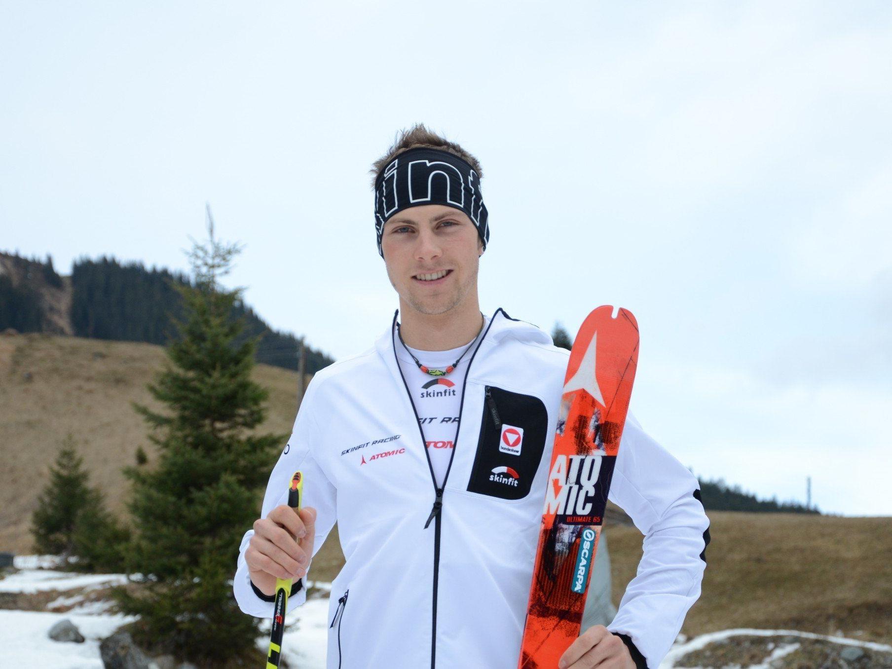Der 20-jährige St. Gallenkircher Daniel Zugg schafft mit der ÖM-Bronzenen das Ticket für die EM in Andorra.