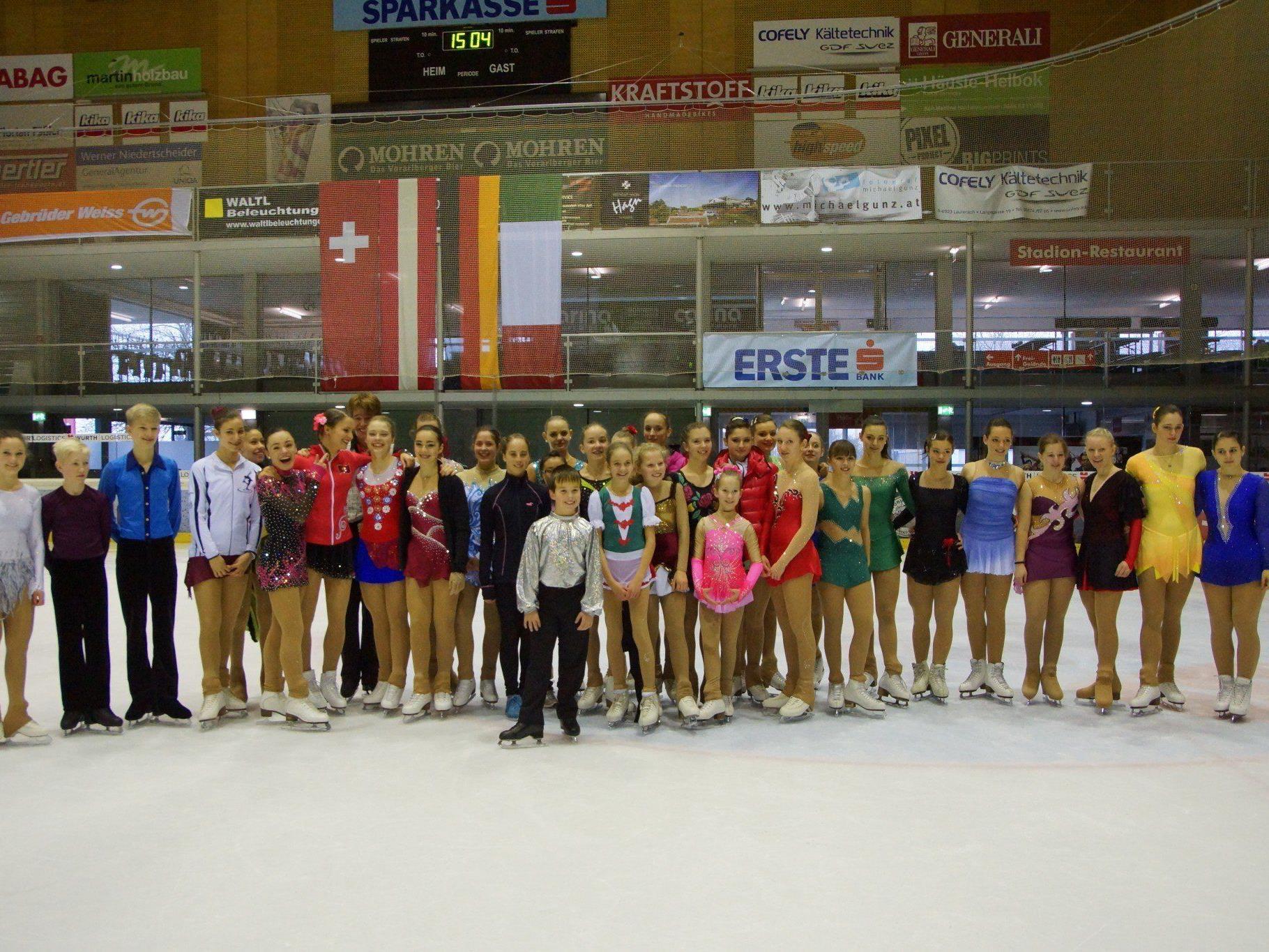 Die Dornbirner Eistrophy brachte wieder gute Leistungen der Nachwuchssportler aus dem Ländle.
