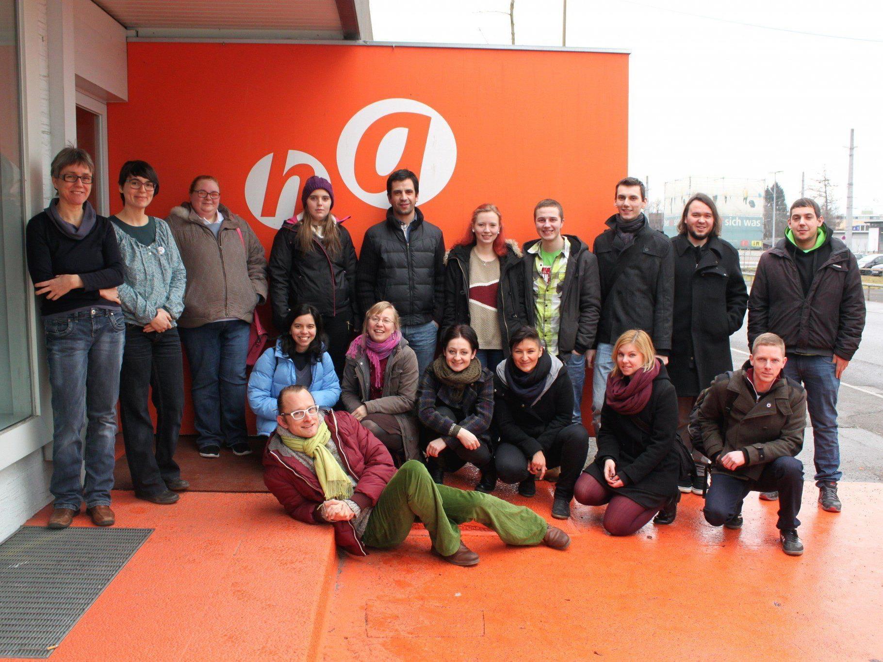 """VertreterInnen aus vier europäischen Ländern treffen sich derzeit im Rahmen des europäischen Forschungsprojektes """"EYERP"""" in Vorarlberg."""