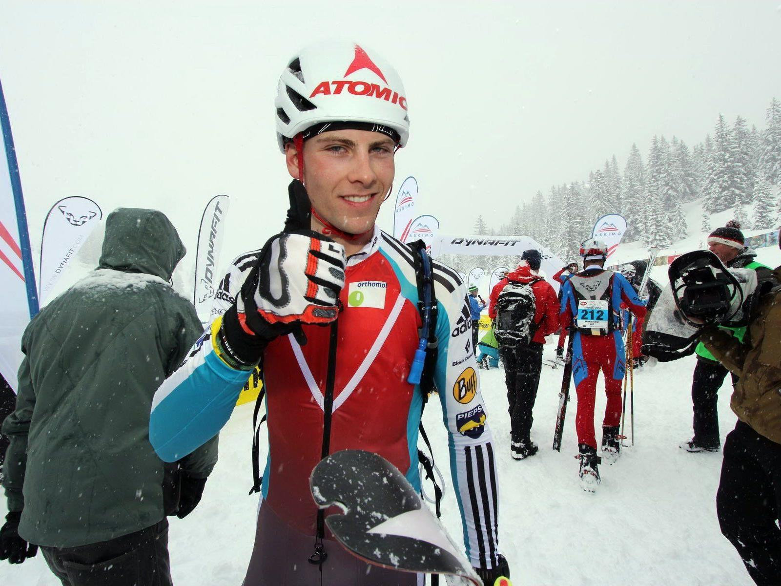 Der St. Gallenkircher Daniel Zugg wurde bei seinem EM Debüt in Andorra sensationell Fünfter.