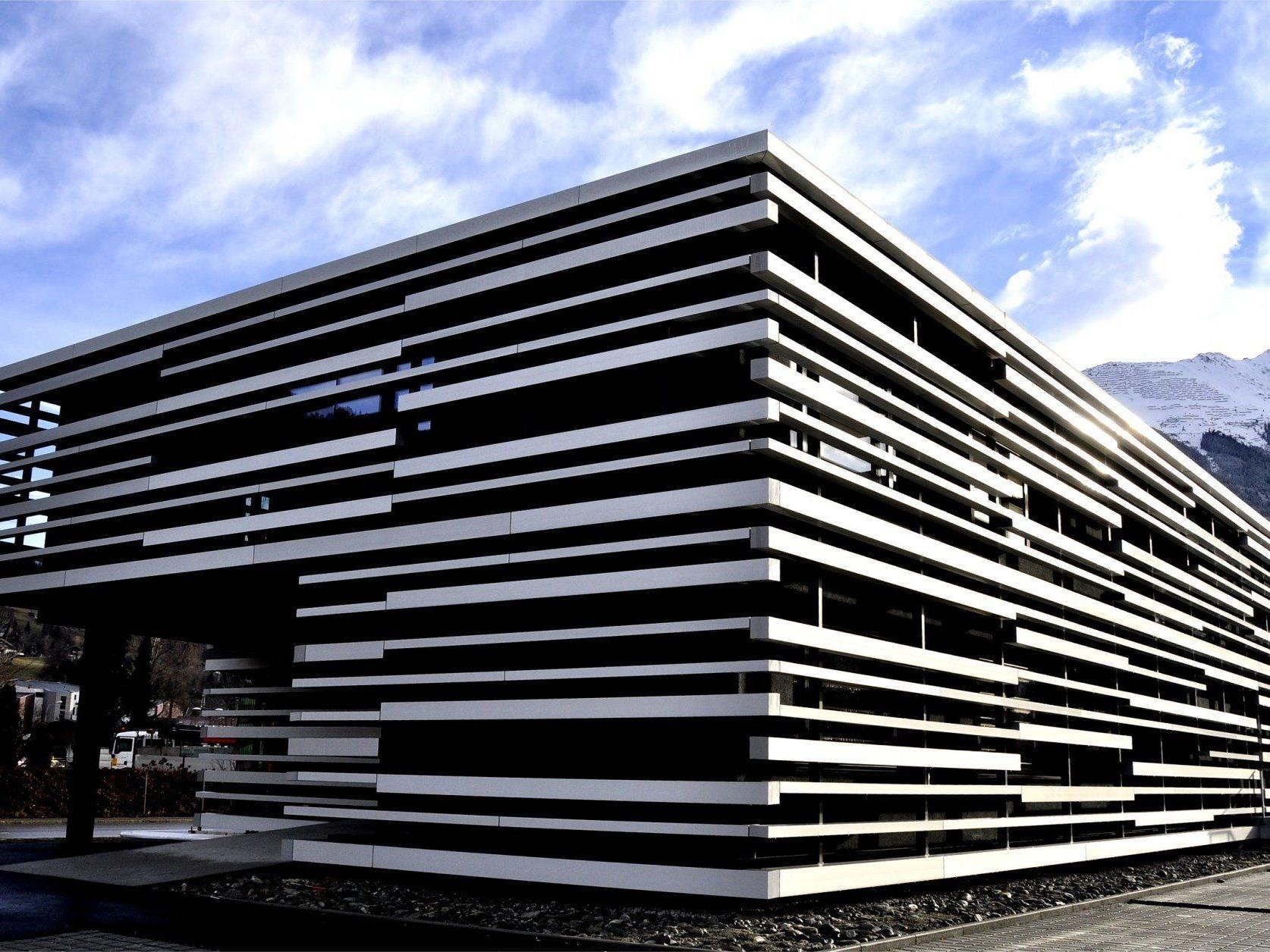 Der neue Firmensitz von Gantner Instruments glänzt durch innovatives Design.
