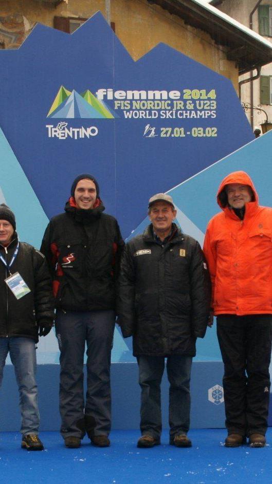 Sechs Vorarlberger reisten nach Val di Viemme um sich vor Ort einige Tipps für die Jugendspiele einzuholen.