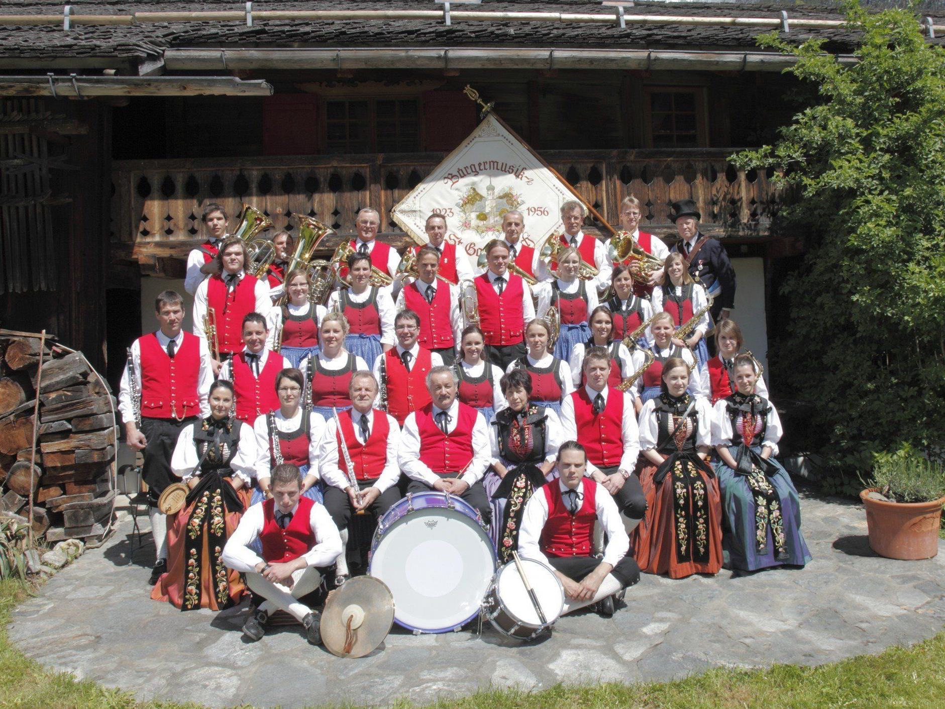 Die Bürgermusik St. Gallenkirch