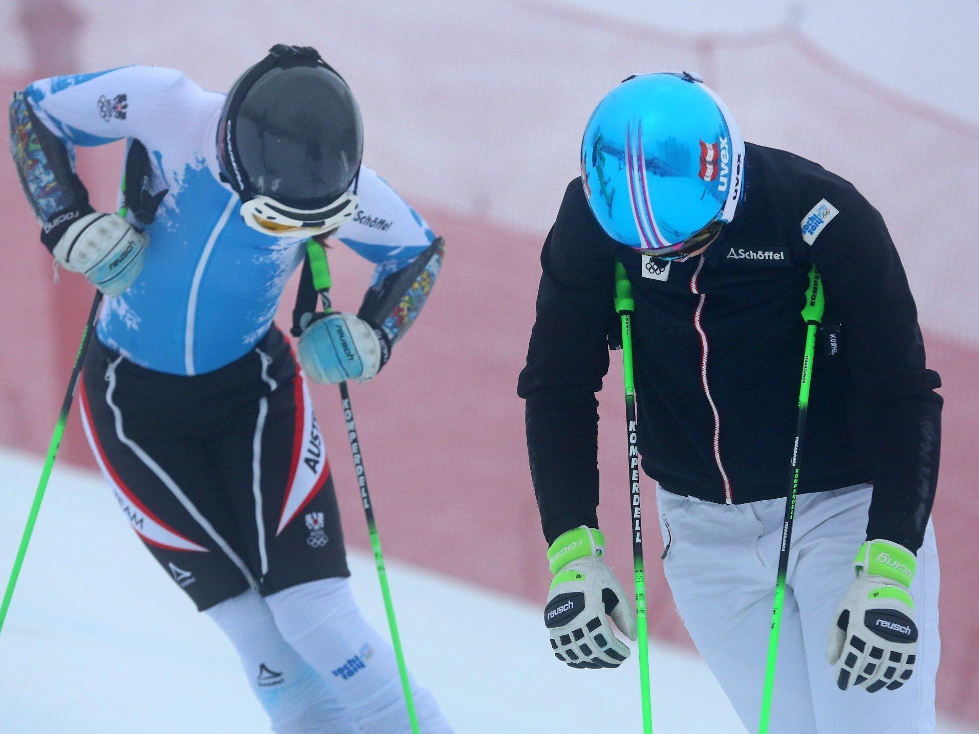 Anna Fenninger und Kathrin Zettel hatten fixe Startplätze.