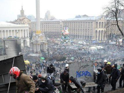 Straßenschlachten, Gewalt und viele Tote in Kiew