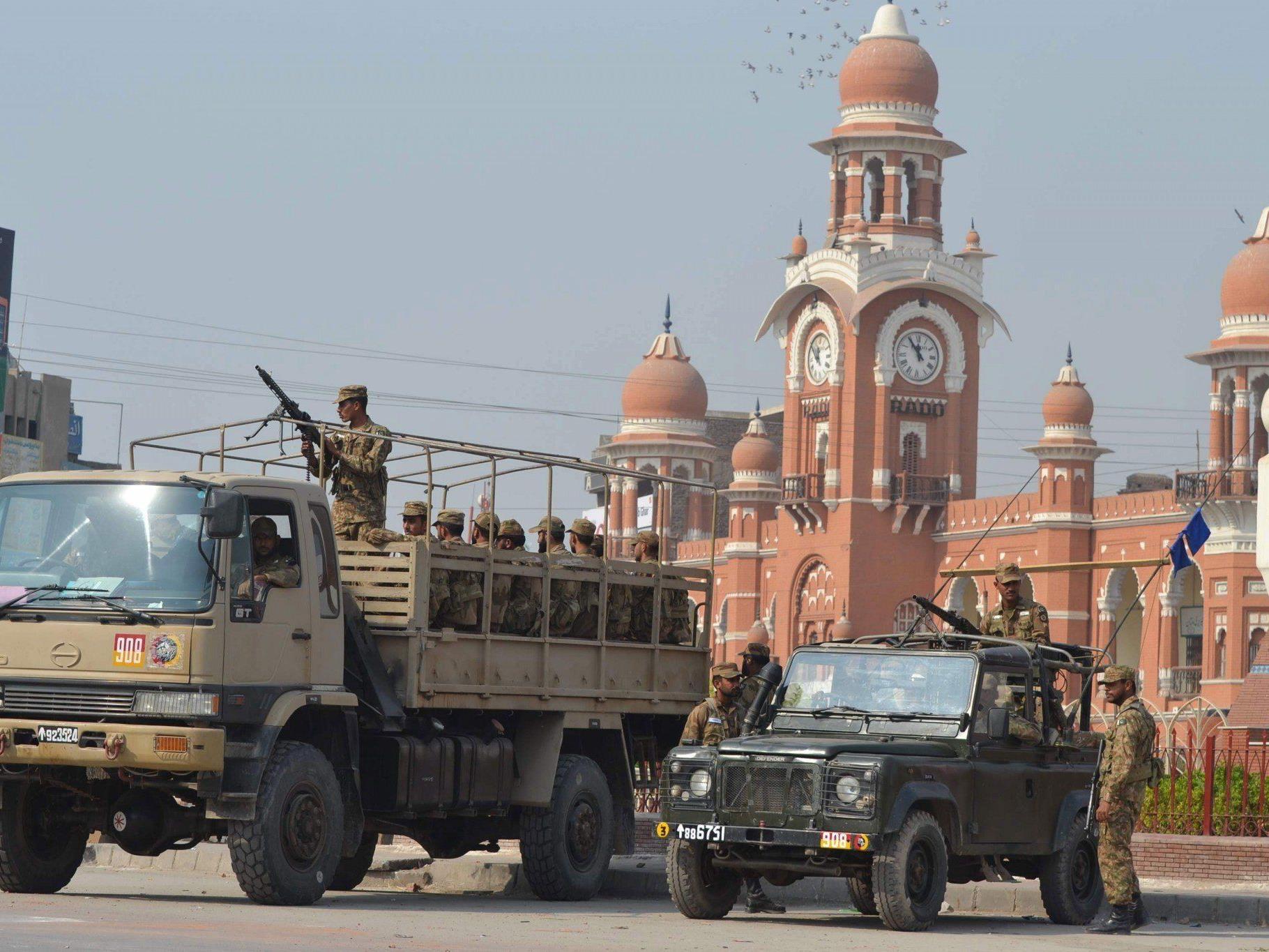 Im pakistanischen Multan wurde der deutsche Entwicklungshelfer vor zwei Jahren entführt.