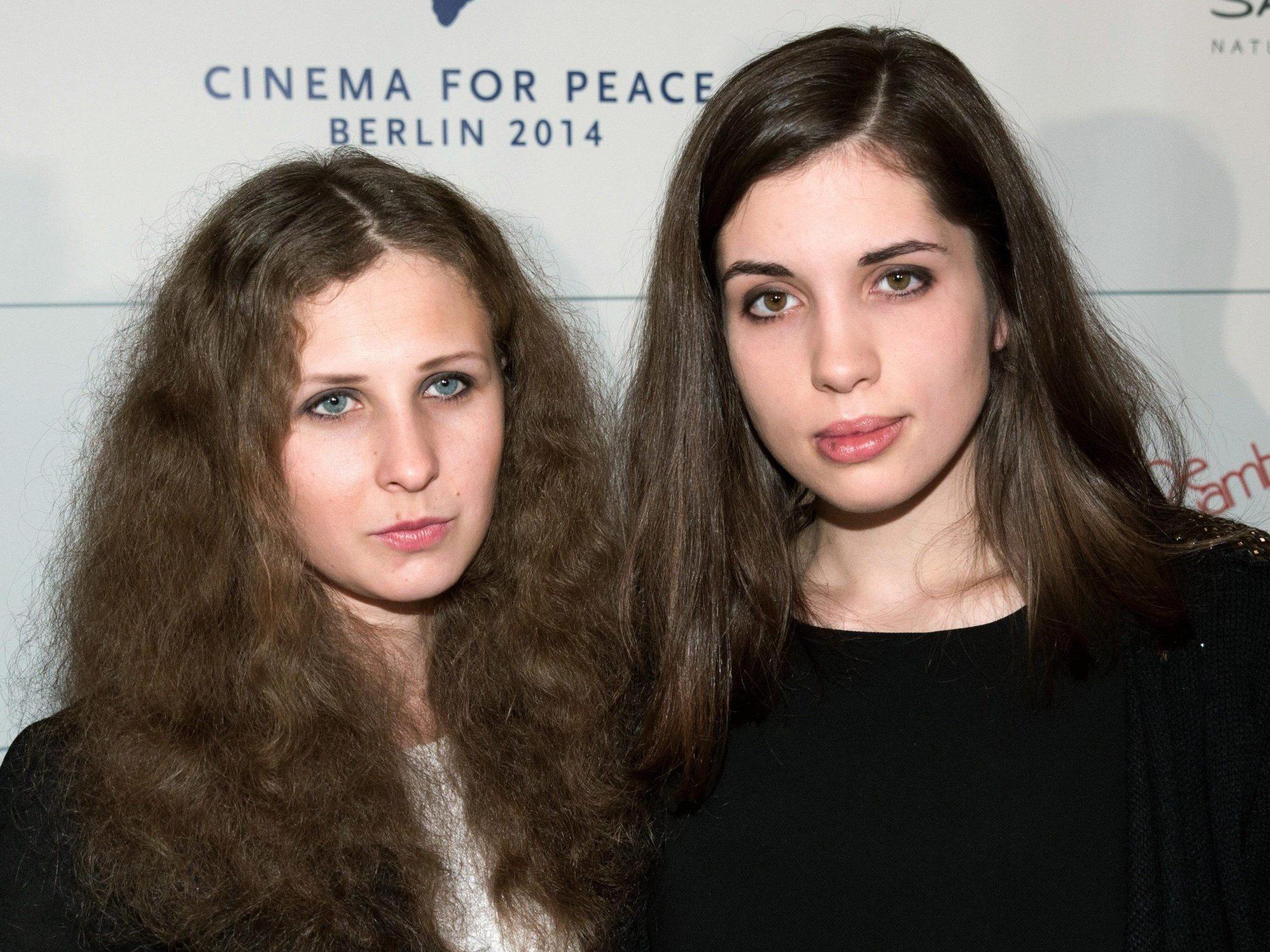 Erst im Dezember wurden die beiden Mitglieder von Pussy Riot von Wladimir Putin begnadigt.
