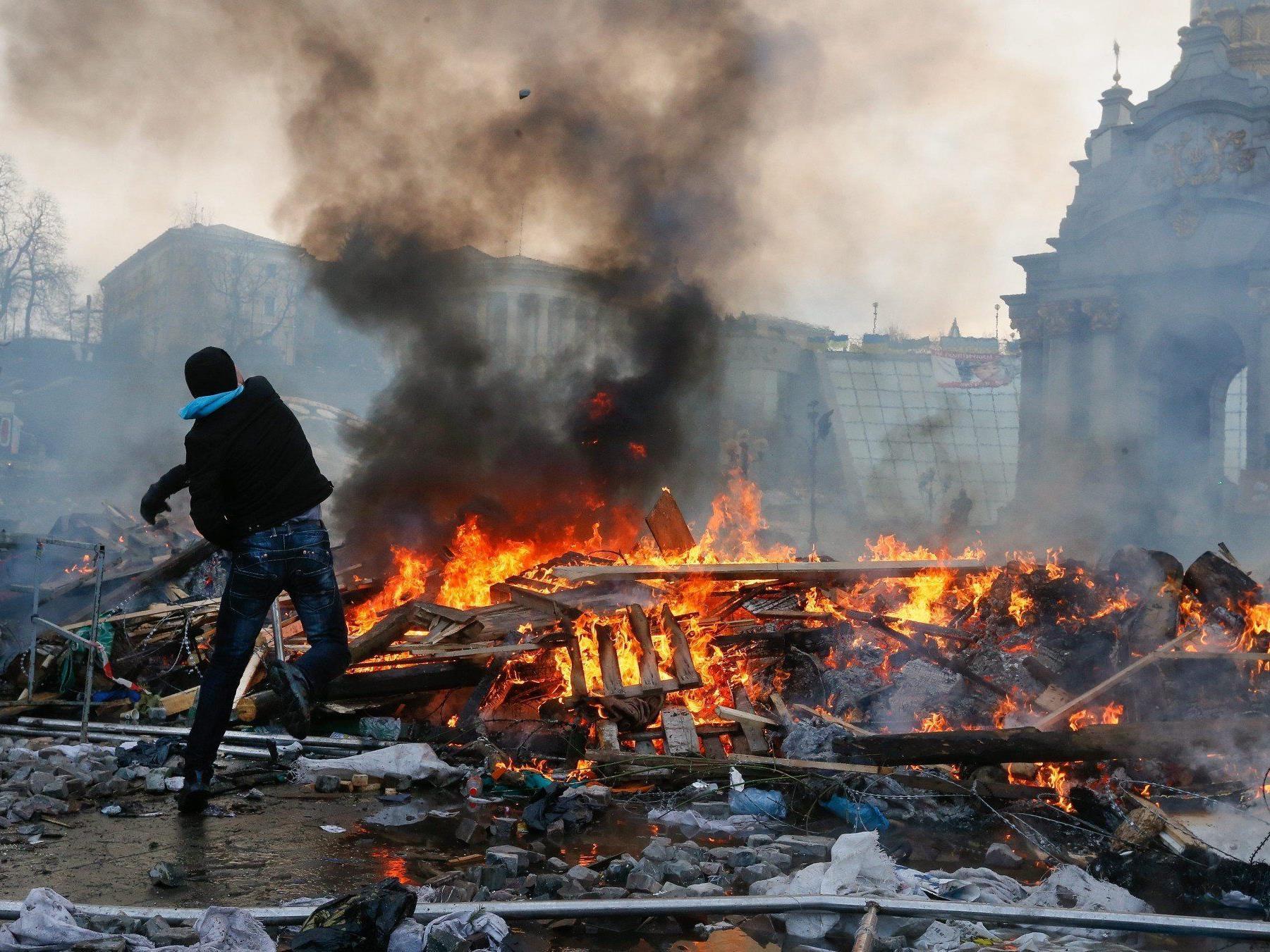 Live aus Kiew, Ukraine.