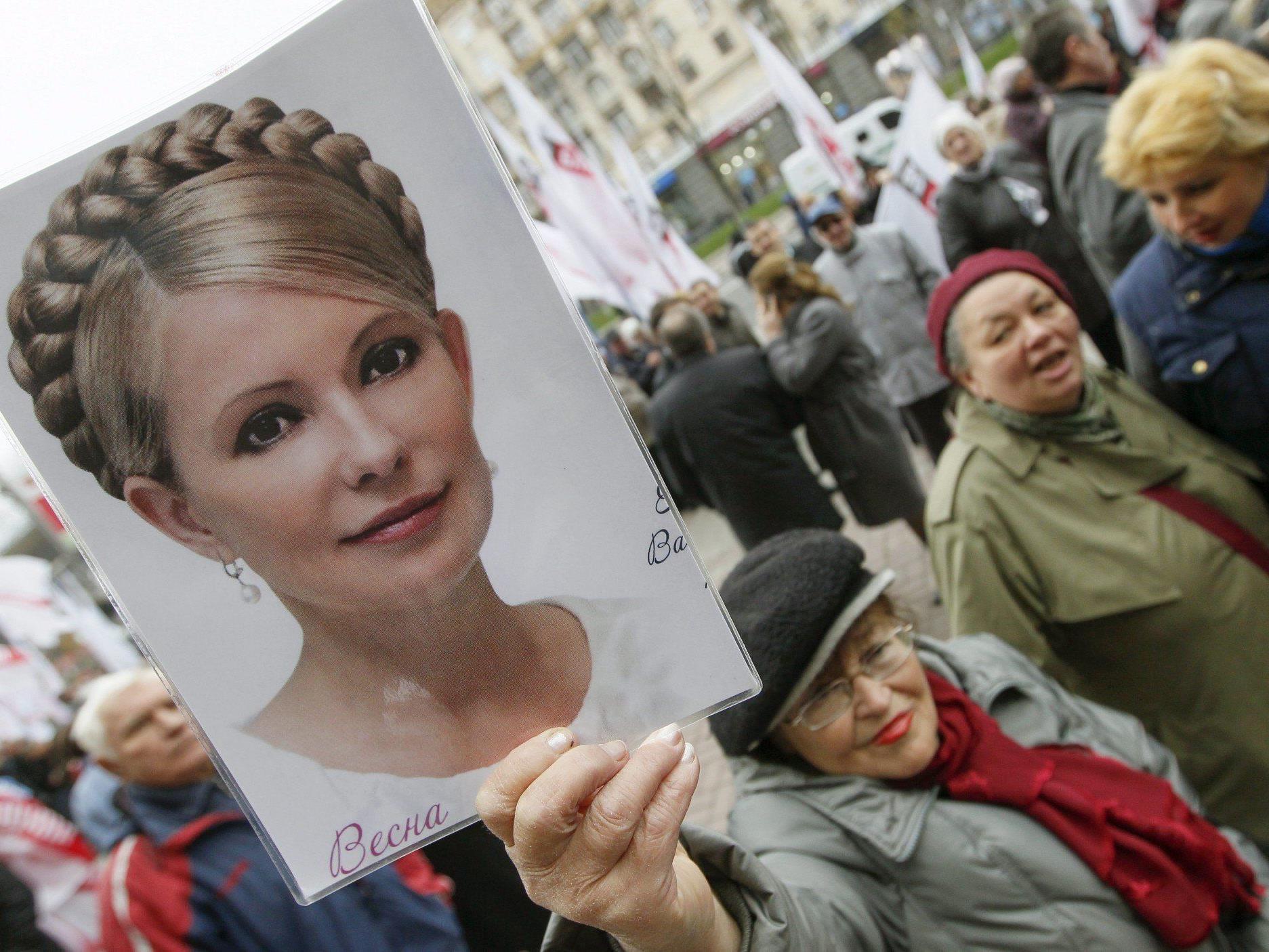 Timoschenko war 2011 wegen Amtsmissbrauchs zu sieben Jahren Haft verurteilt worden.