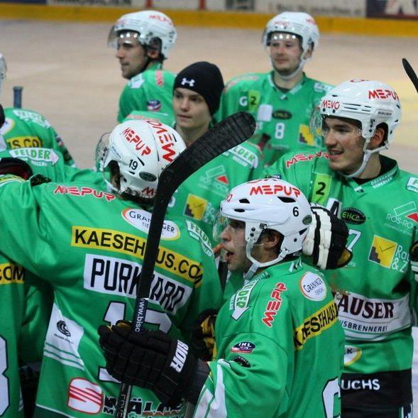EHC Bregenzerwald steht im Viertelfinale der INL, in Kaltern gewinnt die Alfredsson-Truppe mit 4:3.