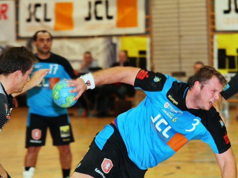 Feldkirch Spielertrainer Bernhard Grissmann konnte die Niederlage in Winzingen auch nicht verhindern.