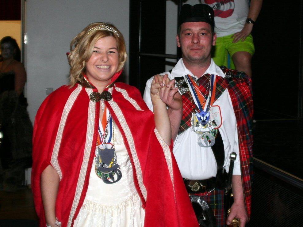 Prinzessin Sarah und Prinz Markus