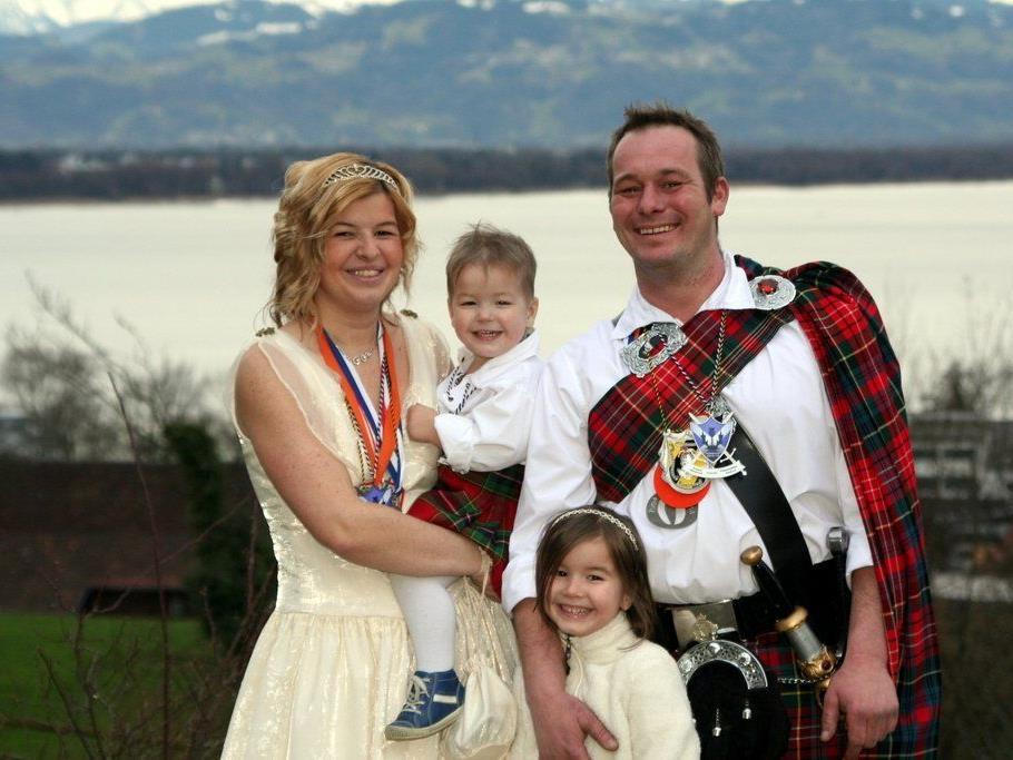 Prinzenfamilie in Lochau