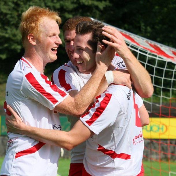 Vier Mal Torjubel im Lager der müden Rankweiler im Test gegen SC Göfis.