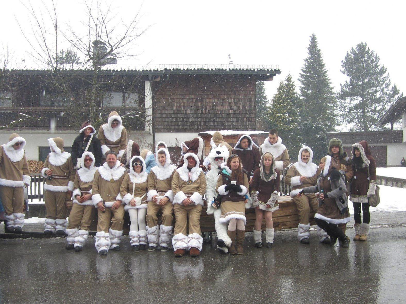 Der Fasnatverein veranstaltet am 22. Februar 2014 wieder den Kinderfaschingsumzug.