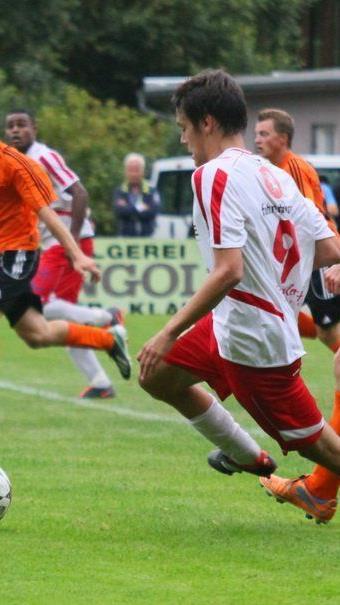 Manuel Pose erzielte beim 5:4-Testsieg der Rankweiler gegen Altach Amateure zwei Tore.