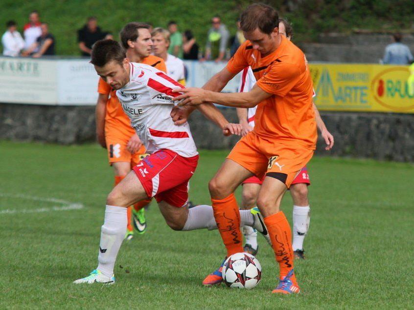Rankweil-Mittelfeldspieler Patrick Mair spielt gegen seinen Exklub Göfis und hofft auf eine starke Leistung.