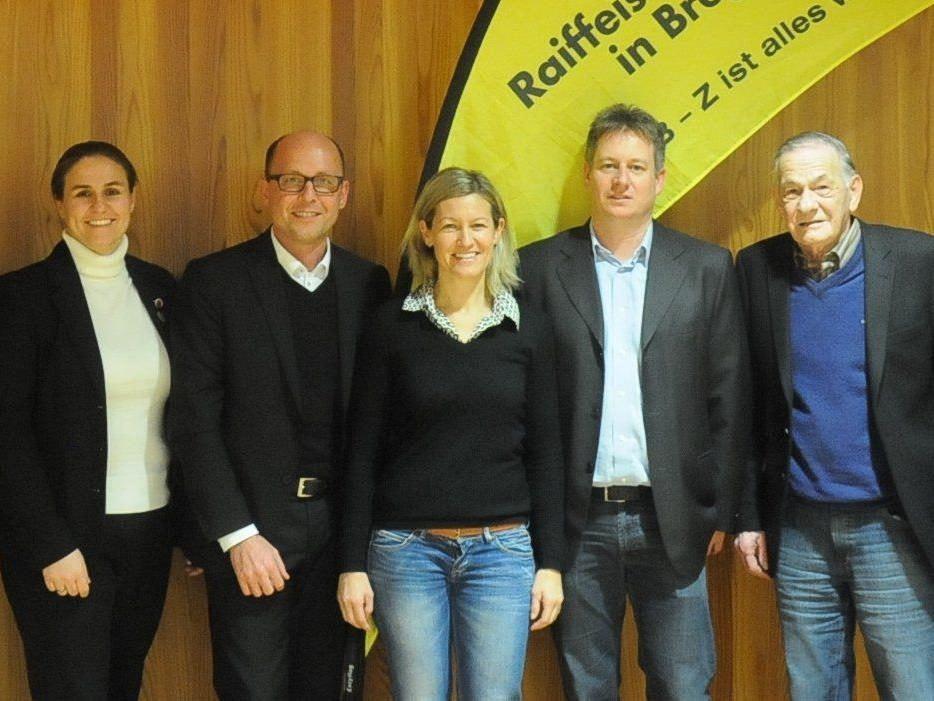Der Vorstand der TS Bregenz-Vorkloster mit Sportstadtrat Michael Ritsch bei der 68. JHV.