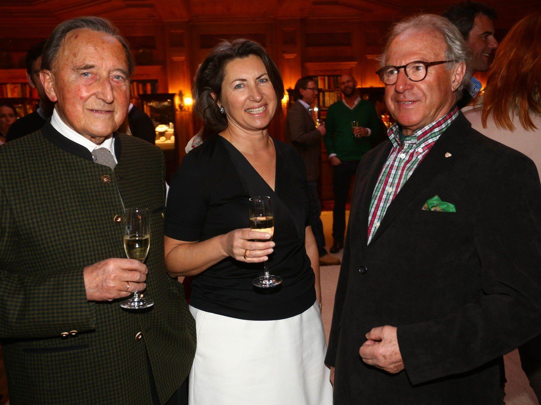 Empfang der Gemeinde Lech lockte auch heuer wieder zahlreiche Ländle-Gäste.