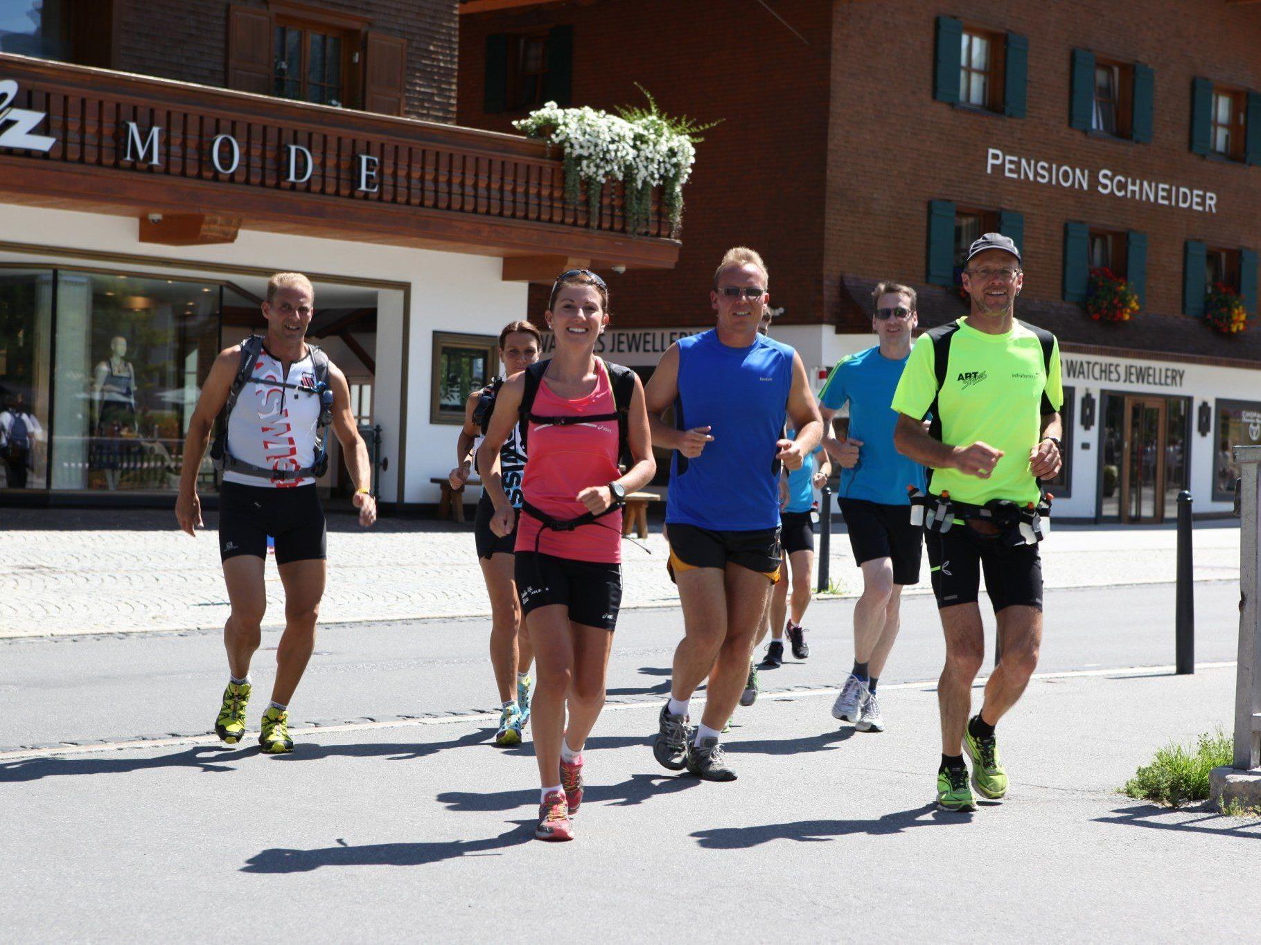 30. März bis 3. April: Lauf-Trainingscamp mit Vizeweltmeisterin Sabine Reiner.