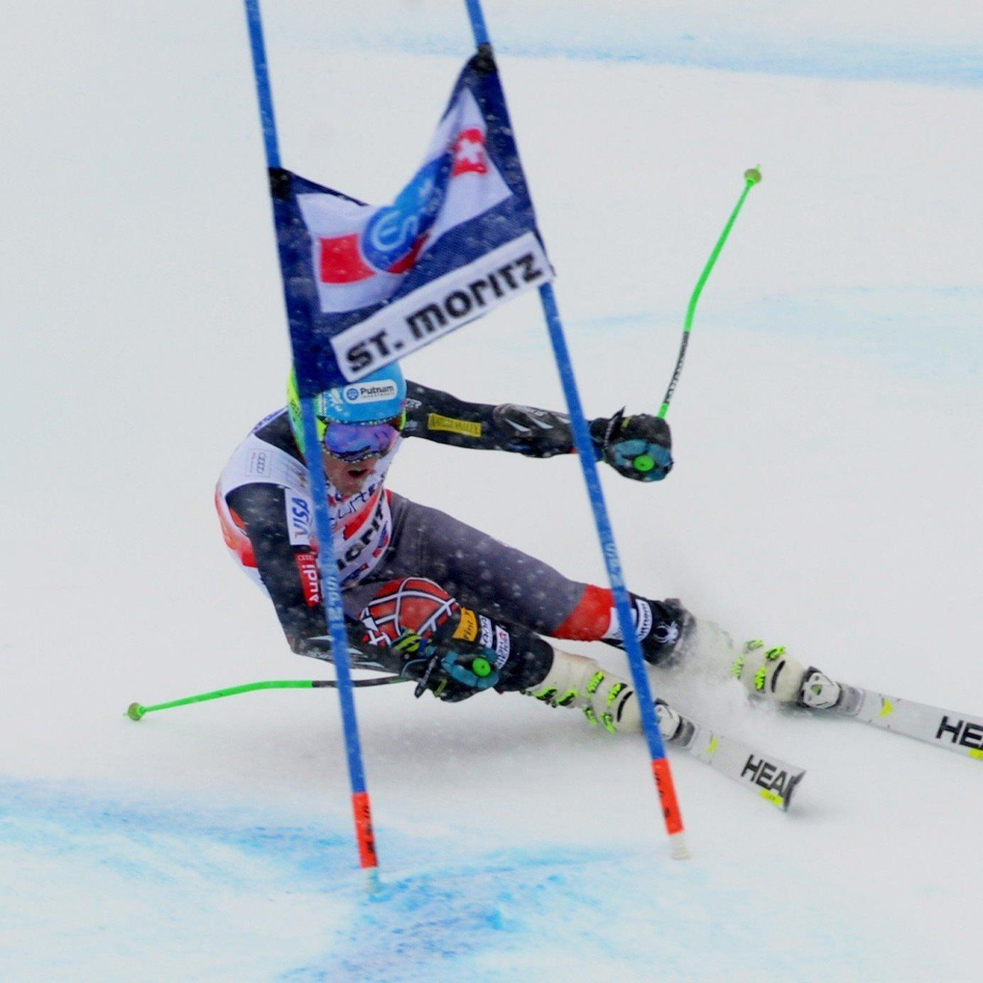 Ted Ligety dominierte den RTL in St. Moritz mit riesigem Vorsprung.