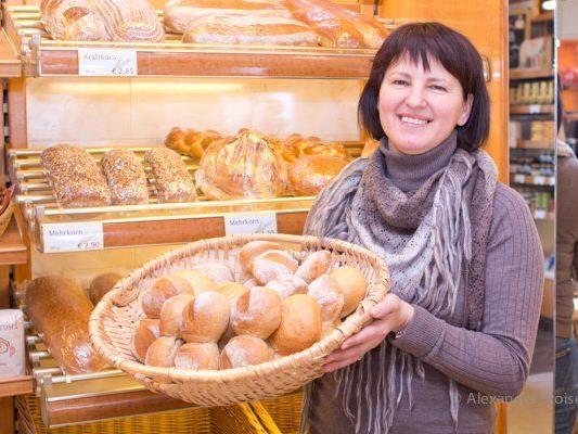 Die Bäckerei Greber bietet gegen Vorbestellung wieder geweihtes Brot zum Gedenktag der heiligen Agatha an.