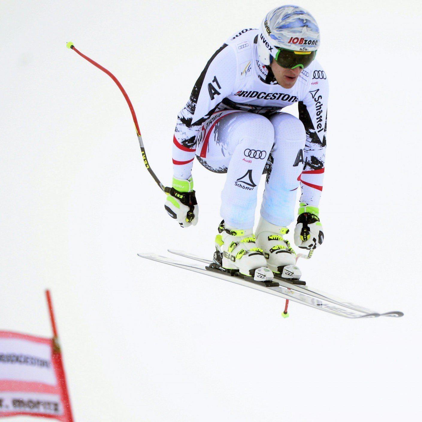 Matthias Mayer, hier in St. Moritz, ist für die Olympia-Abfahrt in Sotschi fix qualifiziert.