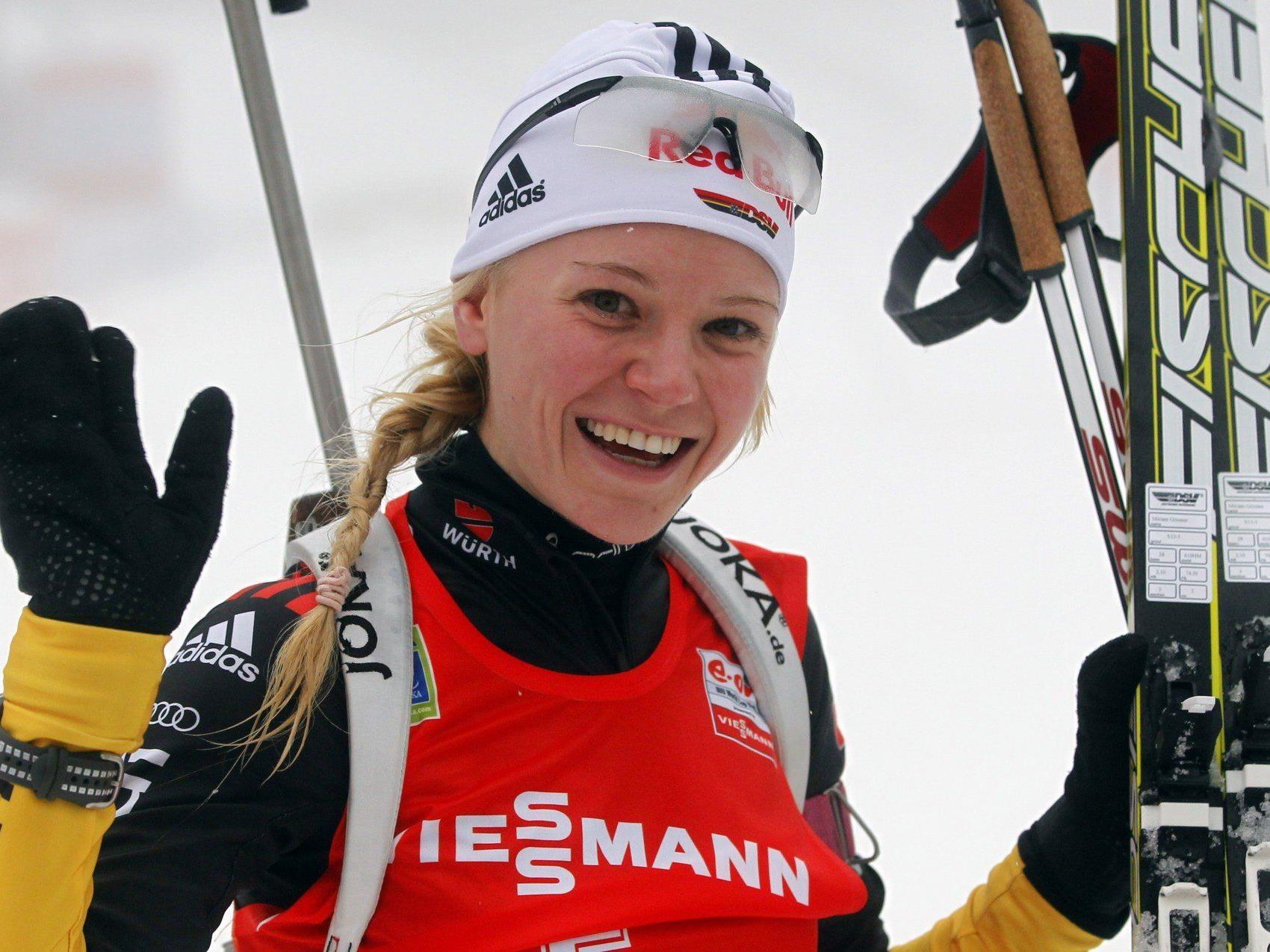 Sie ist die Freundin von Ski-Star Felix Neureuther.