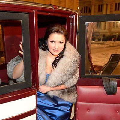 Anna Netrebko liebt Wien und alles, was dazu gehört - etwa Fiaker