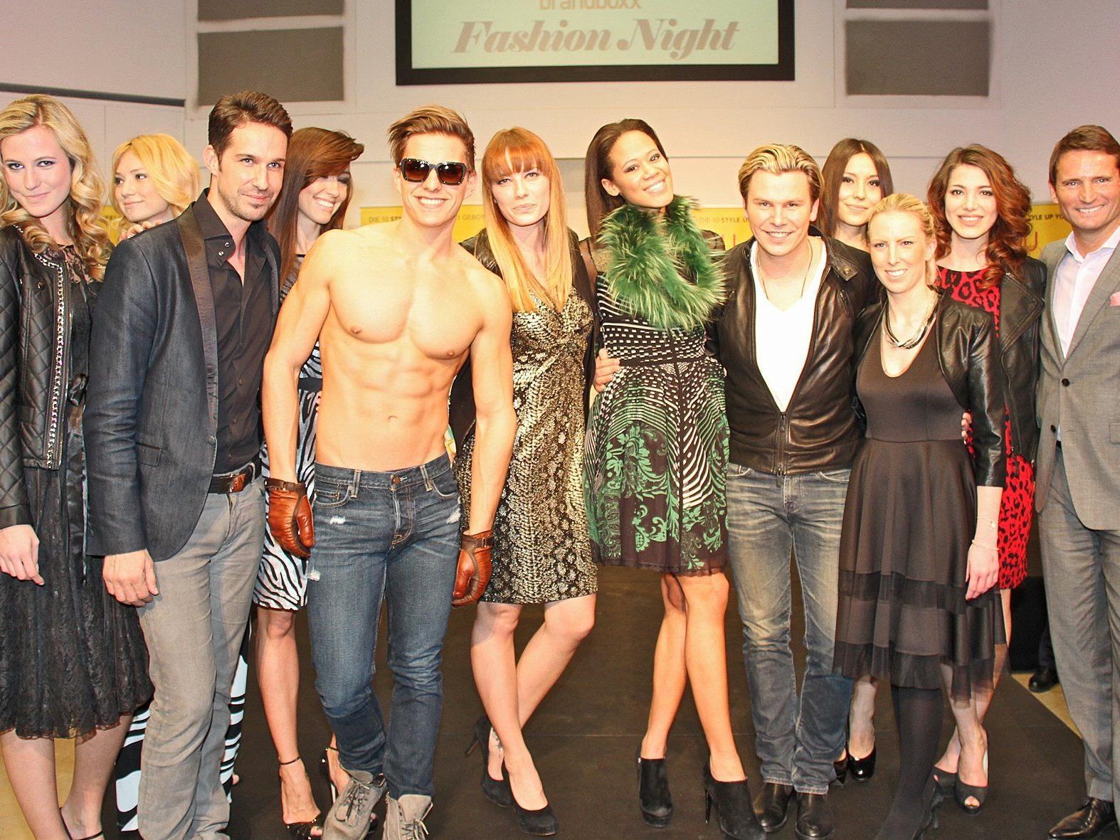 Models präsentierten bei der StyLE Up Your Life!-Fashion Night die Wintermode-Trends.