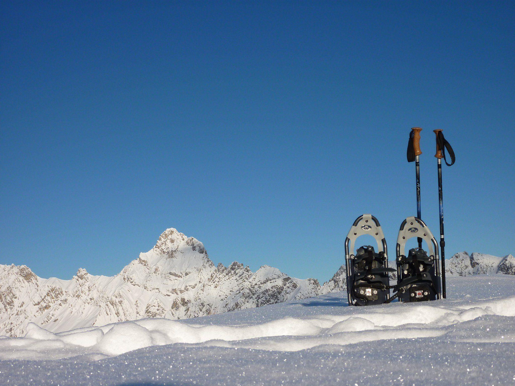 BergAktiv Montafon bietet geführte Schneeschuh – Winter- und Sommerwanderungen.