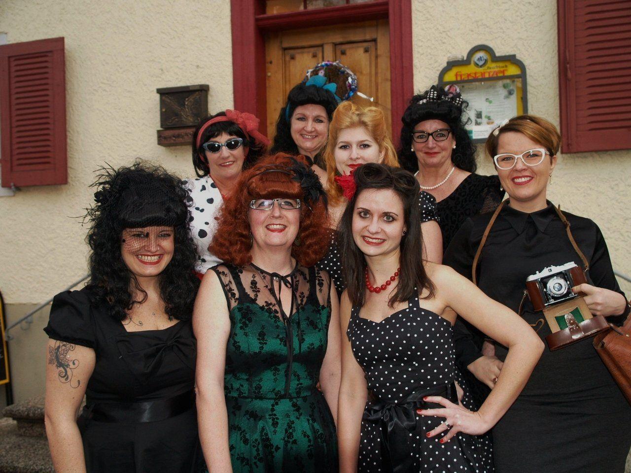 Die Tee-Kränzle Party im Rankweiler Hof  gehört zum festen Bestandteil des Vorarlberger Faschingskalenders.