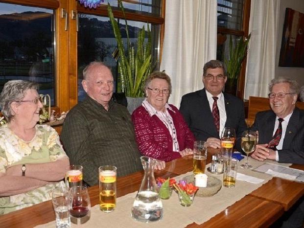 Jahreshauptversammlung des Pensionistenverbandes Rheindelta.