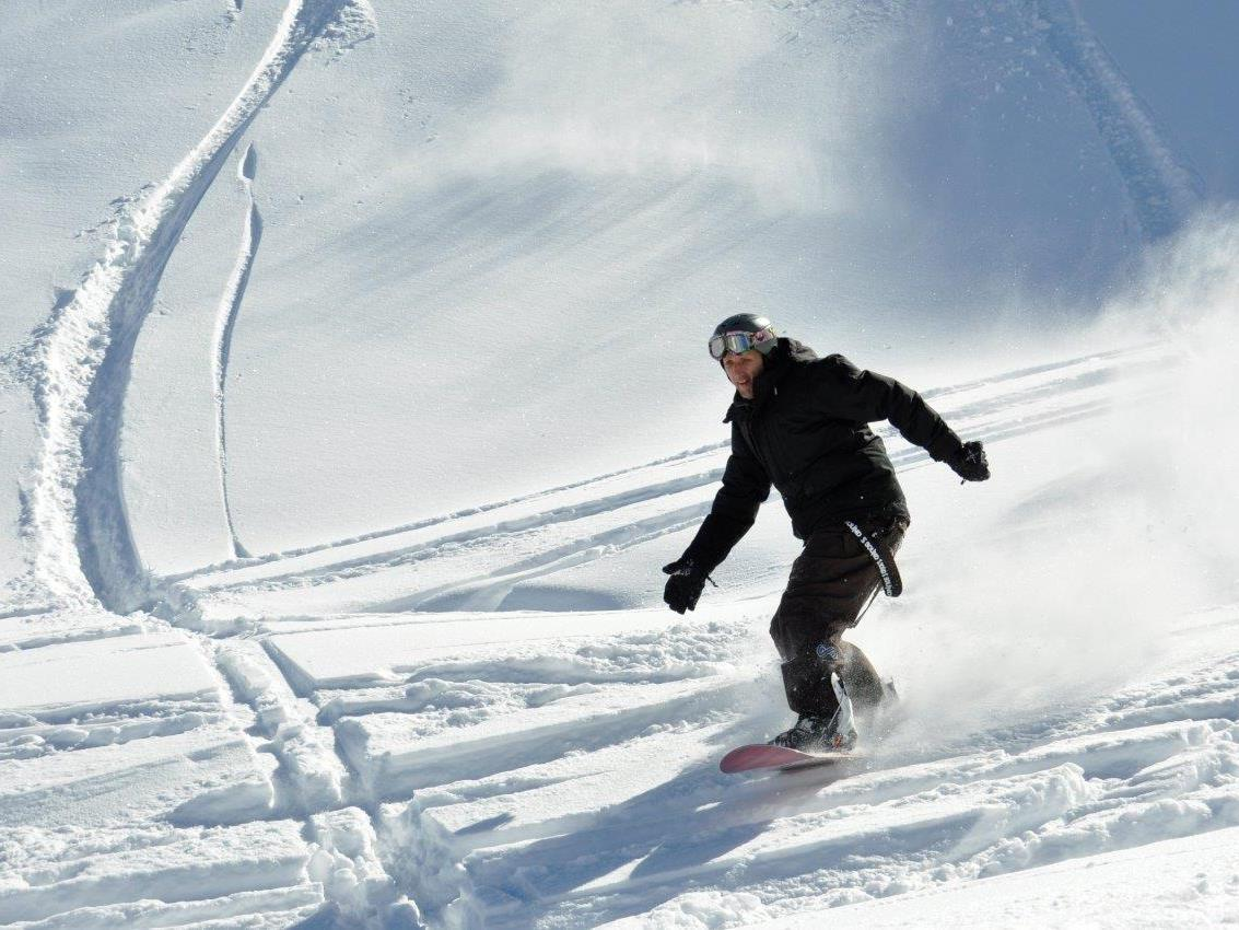 Das Snowboardcamp war wieder ein voller Erfolg.
