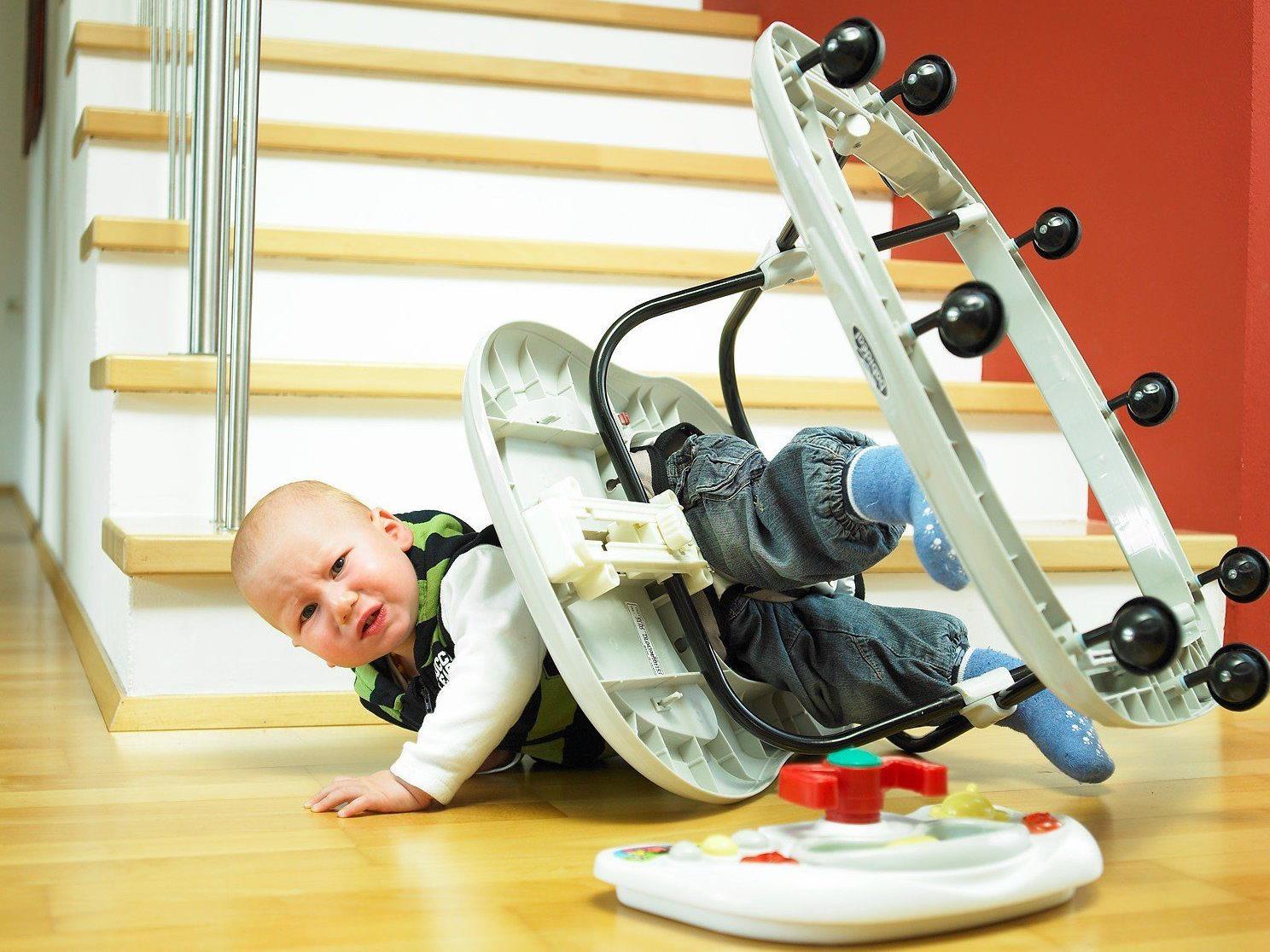 Auch in Vorarlberg müssen immer wieder Kinder nach Unfällen mit Laufwagen im Spital behandelt werden.